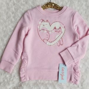 Cat & Jack cat sweatshirt. 🐈💕